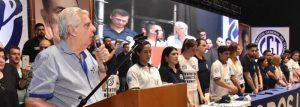 Lanzamiento de la Juventud Sindical Peronista