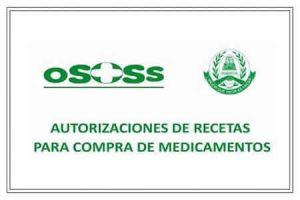 Autorizaciones de recetas para compra de medicamentos