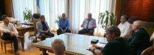 Reunión con el Ministro de Salud de la Nación, el Dr. Ginés Gonzalez Garcia