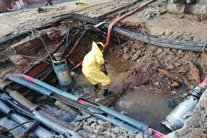 Seguimos trabajando – Reparación de emergencia en San Telmo
