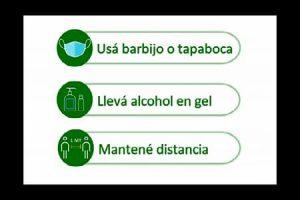 Medidas de prevención al salir de casa
