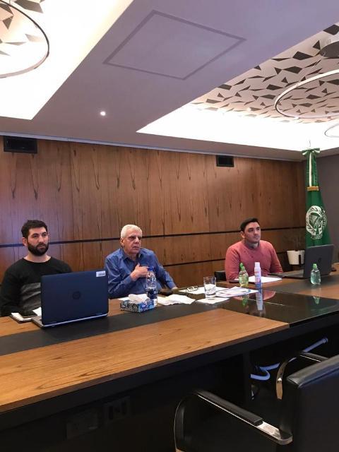 Lingeri en el encuentro de la ISP, CONTAGUAS y WATERLAT