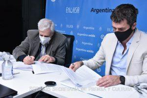 El SGBATOS firma convenio de colaboración con el ENOHSA