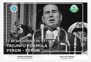 TERCERA PRESIDENCIA DE PERÓN