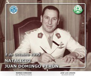 Natalicio Juan Domingo Perón