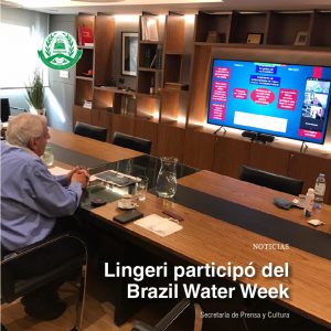 Lingeri participó del Brazil Water Week