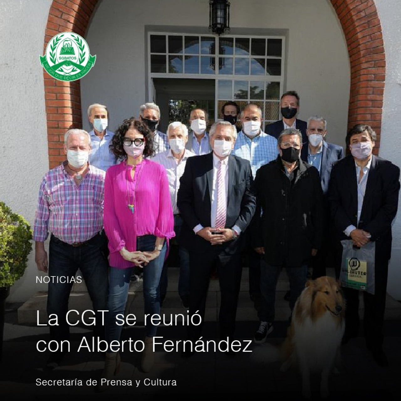 La CGT se reunió con Alberto Fernández