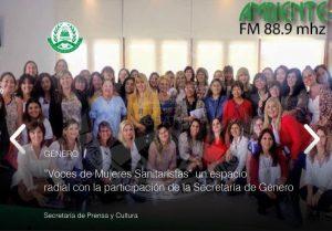 """""""Voces de Mujeres Sanitaristas"""", nuevo espacio radial"""