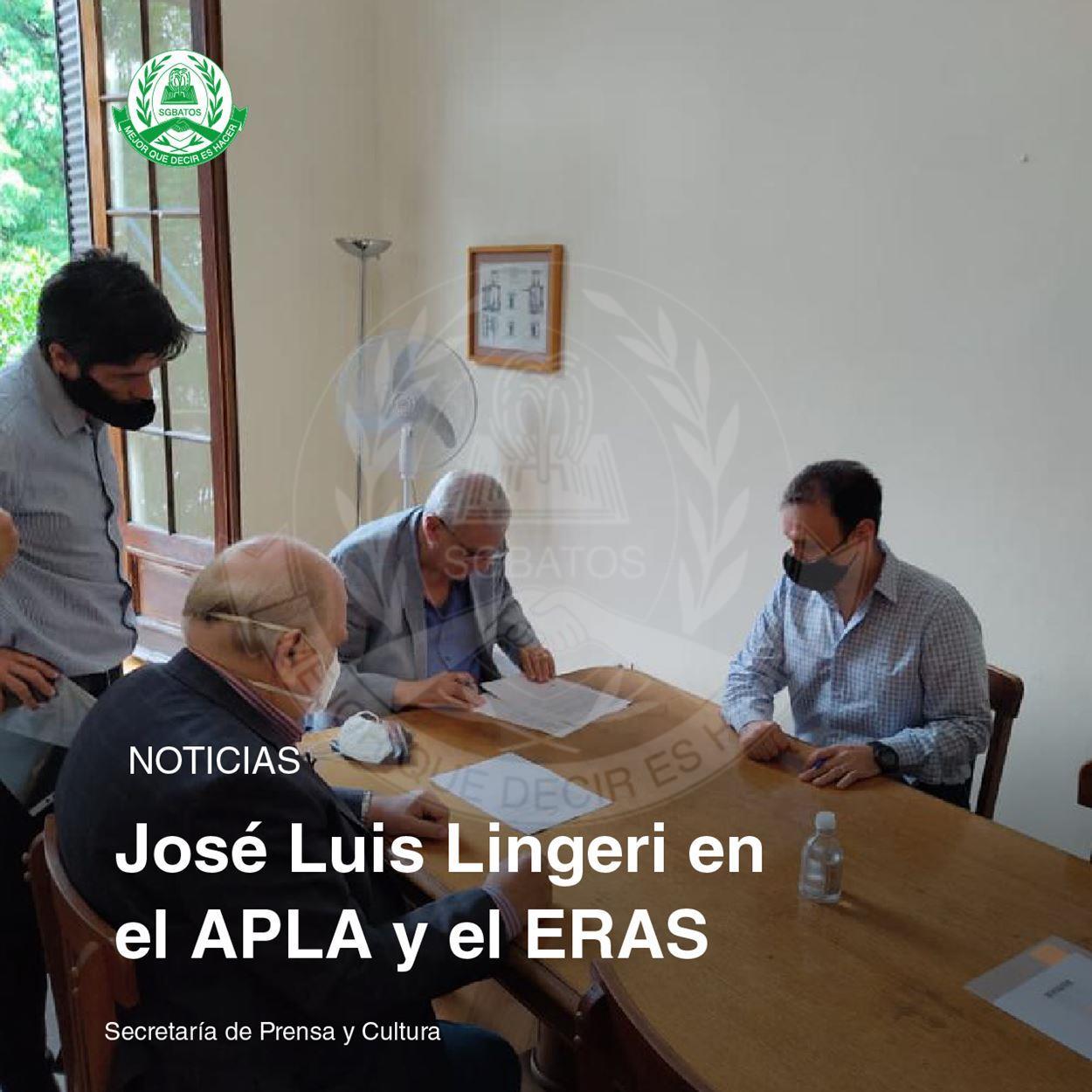 José Luis Lingeri en el APLA y el ERAS
