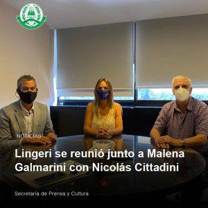 Lee más sobre el artículo Lingeri se reunió junto a Malena Galmarini con Nicolás Cittadini