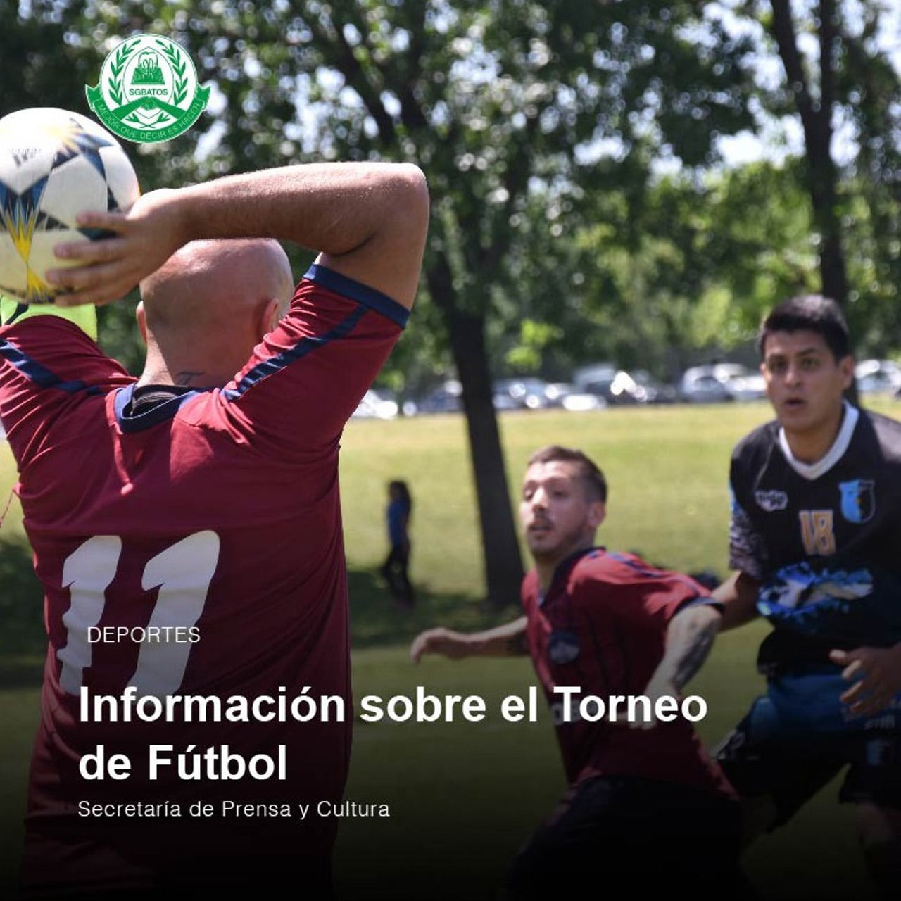 Información sobre el Torneo de Fútbol