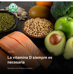 La Vitamina D siempre es necesaria