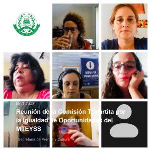 Reunión de la Comisión Tripartita por la Igualdad de Oportunidades del MTEYSS