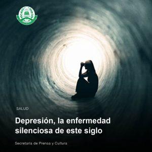 Depresión, la enfermedad silenciosa de este siglo