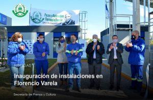 Inauguración de instalaciones en Florencio Varela