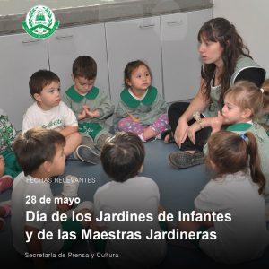28 de mayo – Día de los Jardines de Infantes y las Maestras Jardineras
