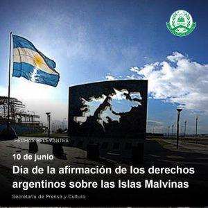 Lee más sobre el artículo 10 de junio – Día de la afirmación de los derechos argentinos sobre las Islas Malvinas