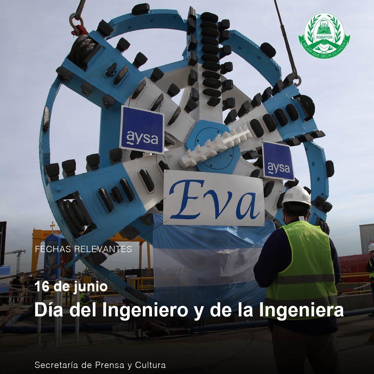 16 de junio – Día del Ingeniero y de la Ingeniera