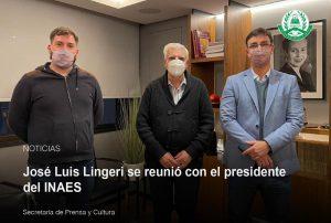 Lee más sobre el artículo José Luis Lingeri se reunió con el presidente del INAES