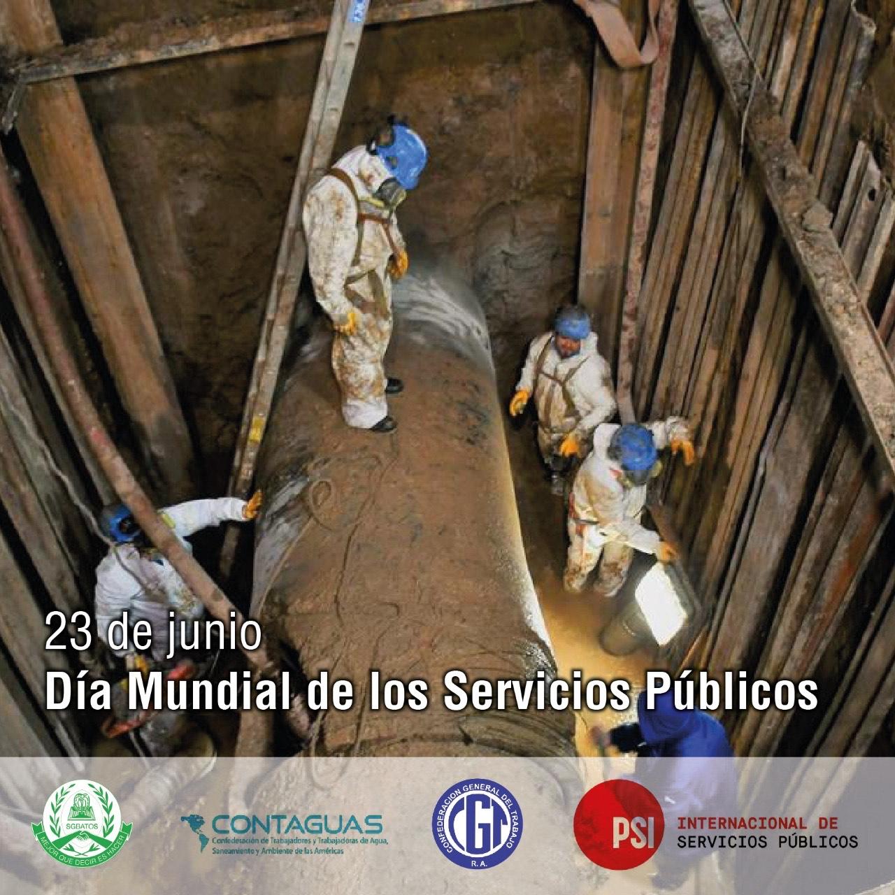 23 de junio – Día Mundial de los Servicios Públicos