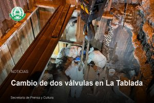 Lee más sobre el artículo Cambio de dos válvulas en La Tablada