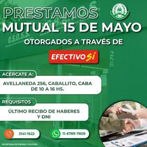 Lee más sobre el artículo Préstamos Mutual 15 de Mayo