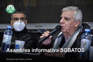 Lee más sobre el artículo Asamblea Informativa SGBATOS