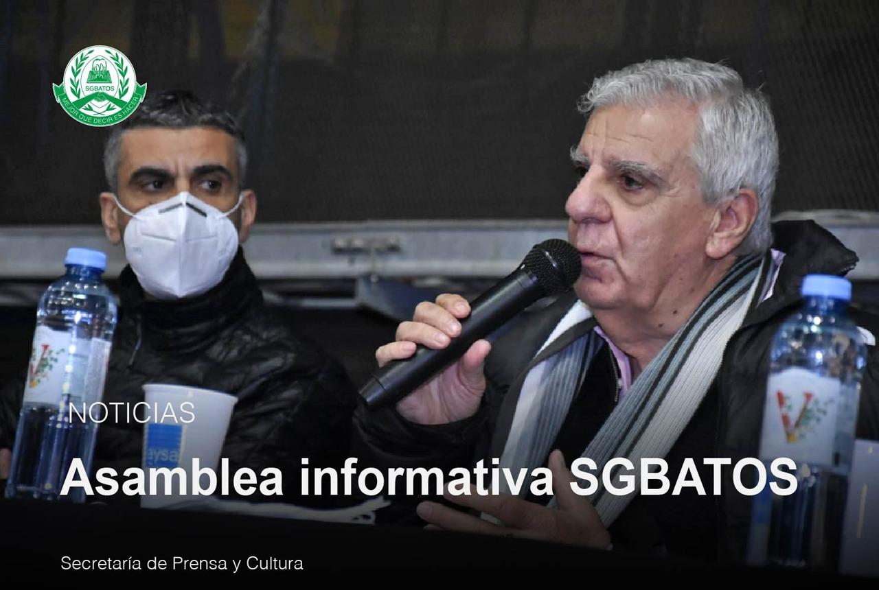 Asamblea Informativa SGBATOS