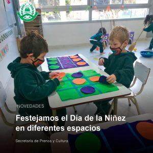 Lee más sobre el artículo Festejamos el Día de la Niñez en diferentes espacios