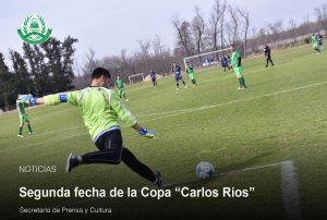 """Lee más sobre el artículo Continua la primera fecha de la Copa """"Carlos Ríos"""""""