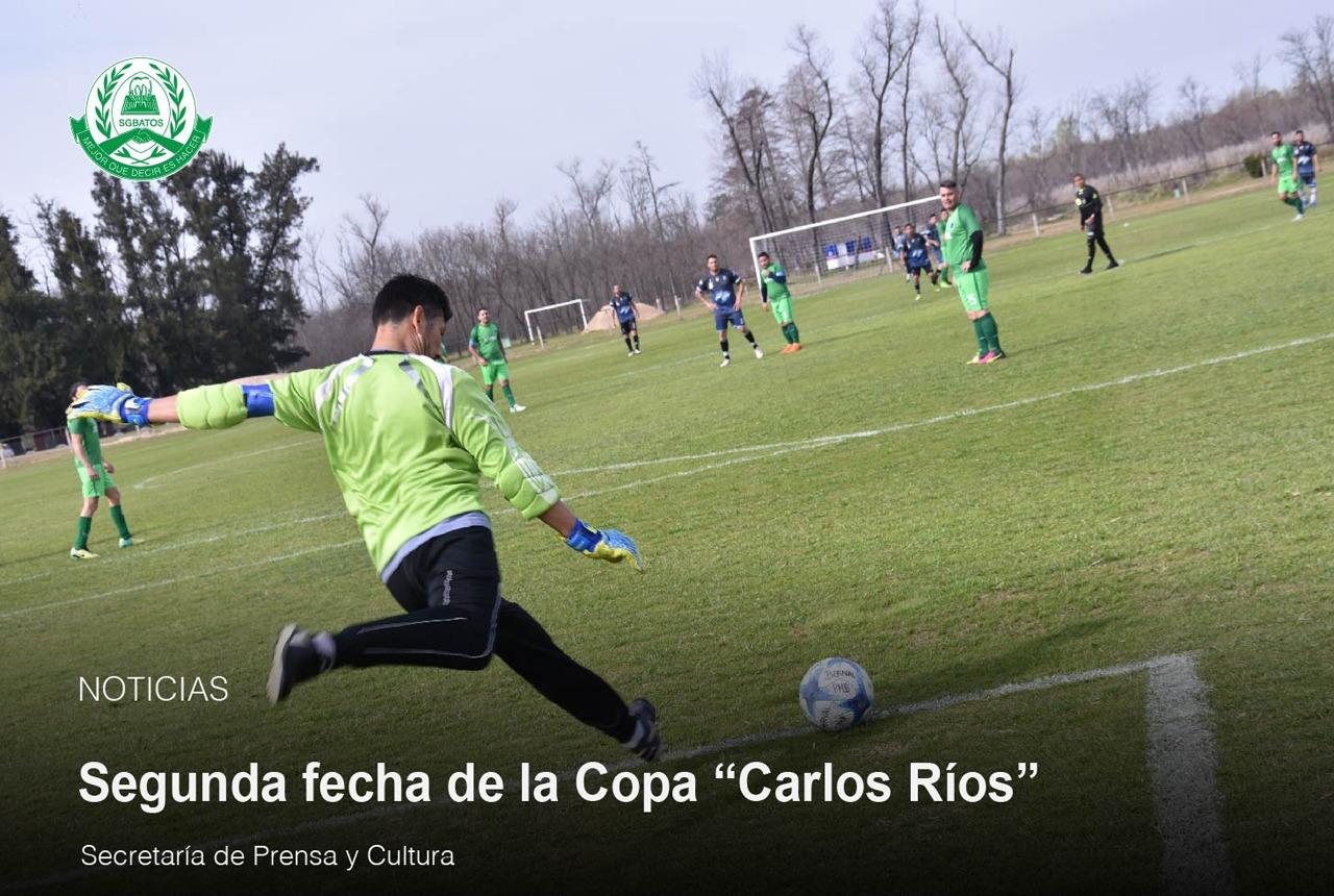 """Continua la primera fecha de la Copa """"Carlos Ríos"""""""