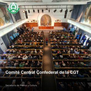 Lee más sobre el artículo Comité Central Confederal de la CGT