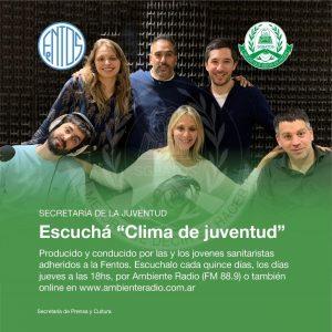 Lee más sobre el artículo Programa de radio «Clima de juventud»
