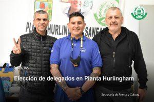 Lee más sobre el artículo Elecciones de delegados en Planta Hurlingham y Pozo de Agua San Miguel