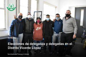 Lee más sobre el artículo Elecciones de delegados y delegadas en el Distrito Vicente López