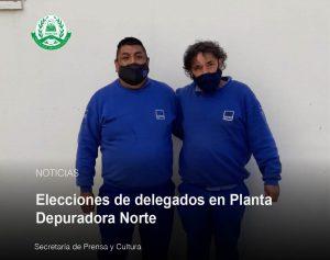 Lee más sobre el artículo Elecciones de delegados en Planta Depuradora Norte y en Estación Bombeo Cloacal Norte