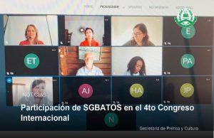 Lee más sobre el artículo Participación de SGBATOS en el 4to Congreso Internacional