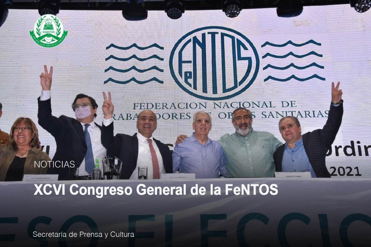XCVI Congreso General de la FeNTOS