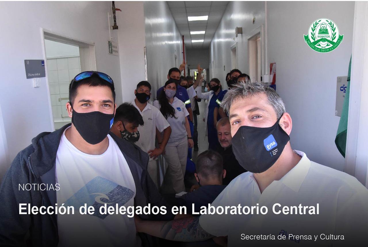Elección de delegados en Laboratorio Central