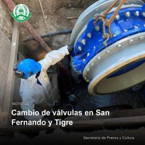 Lee más sobre el artículo Cambios de válvulas en San Fernando  y Tigre