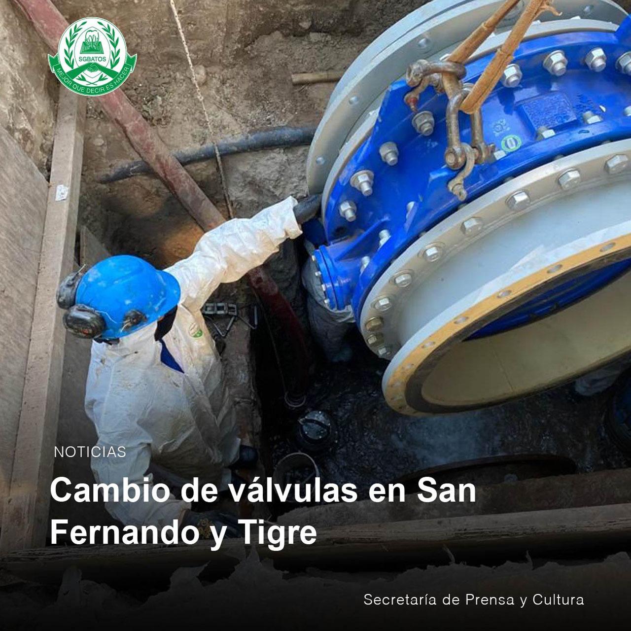 Cambios de válvulas en San Fernando  y Tigre