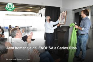 Lee más sobre el artículo Acto homenaje del ENOHSA a Carlos Ríos